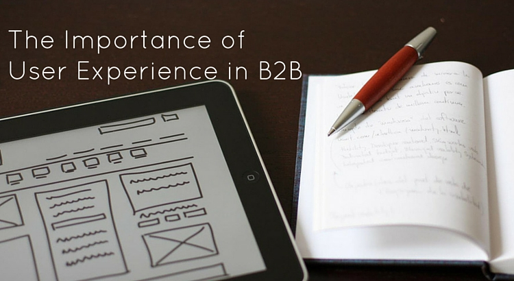 The importance of user experience in business to business - Original Image @ https://flic.kr/p/9JJyxZ