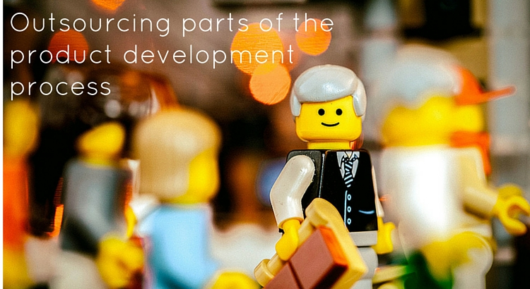 Outsourcing parts of the product development process - Original Image @ https://flic.kr/p/jH4tBF