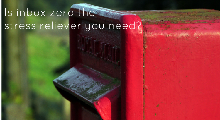 Is inbox zero the stress reliever you need? - Original Image @ https://flic.kr/p/asg2dF