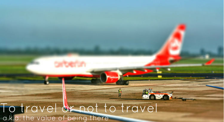To travel or not to travel - Original Image @ https://flic.kr/p/bzGXgT