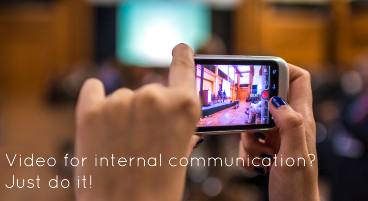 Video for internal communications? - Original Image @ https://flic.kr/p/nM4w1N