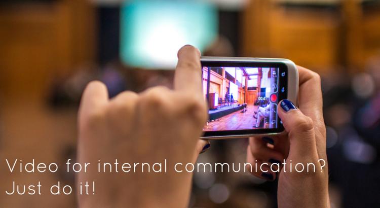 Video for internal communications? - Original Image @ https://flic.kr/p/nM4w1N